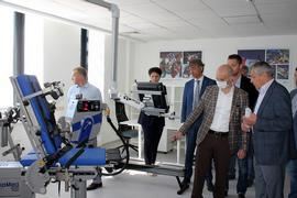 Рабочая поездка первого заместителя Министра спорта Азата Кадырова в Ставропольский край