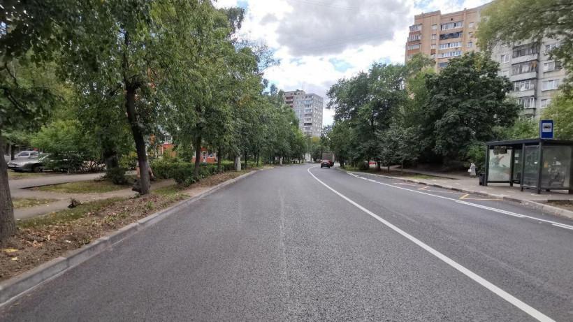 Ремонт двух региональных дорог завершили в Жуковском