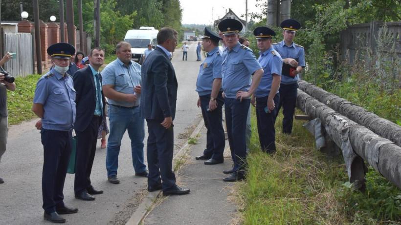 Руководитель Госадмтехнадзора проинспектировал Наро-Фоминский округ