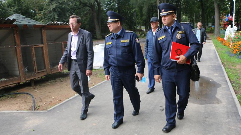 Руководство Госадмтехнадзора Подмосковья посетило с проверкой городской округ Лотошино
