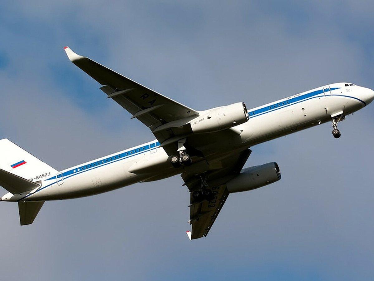 Самолет ФСБ по неизвестной причине прибыл в Минск