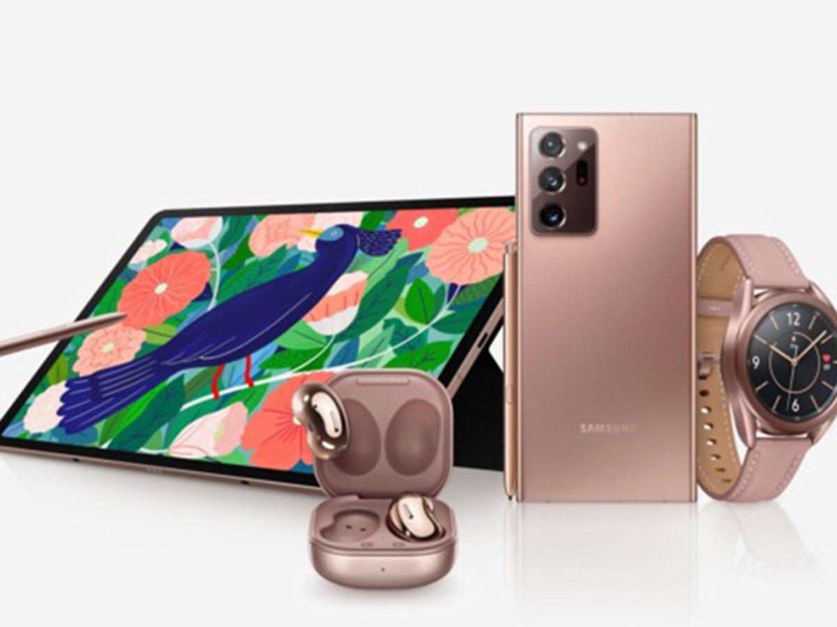 Samsung представила Note 20 и другие новинки