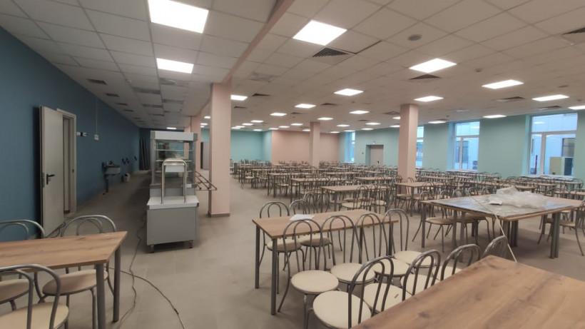 Школа на 1,1 тыс. мест в Сергиевом Посаде готовится к открытию