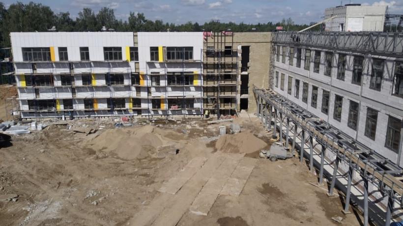 Школу на 1,1 тыс. мест в Ивантеевке планируют построить до конца года