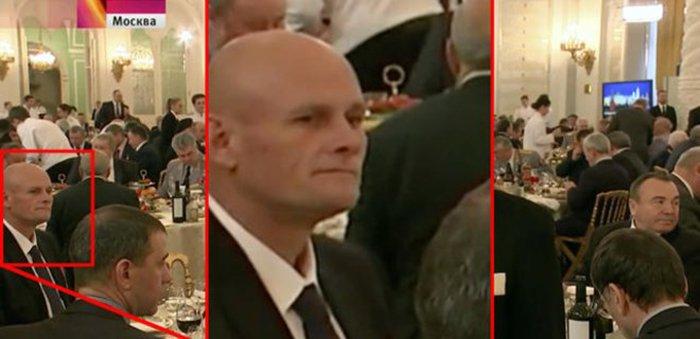 Уткин Вагнер на приеме в Кремле