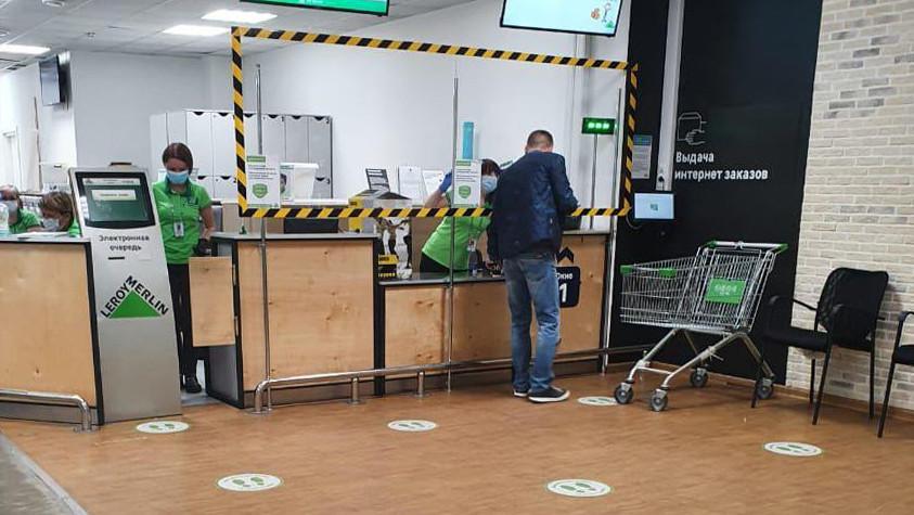 Соблюдение санитарных требований проверили в гипермаркете в Химках