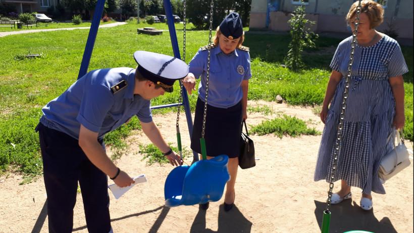 Состояние детских площадок ежедневно контролируют с помощью приложения в 19 округах региона