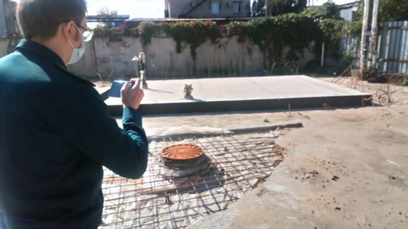 Сотрудники Главгосстройнадзора проверяют ход строительства котельной в Реутове