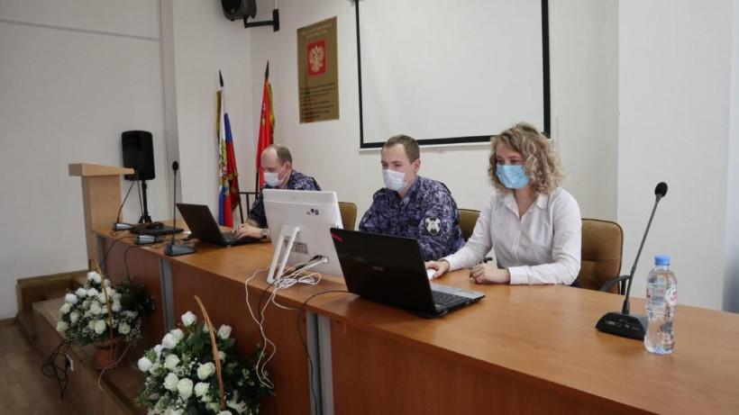 Сотрудники Росгвардии из Подмосковья принимают участие в форуме «Территория смыслов»