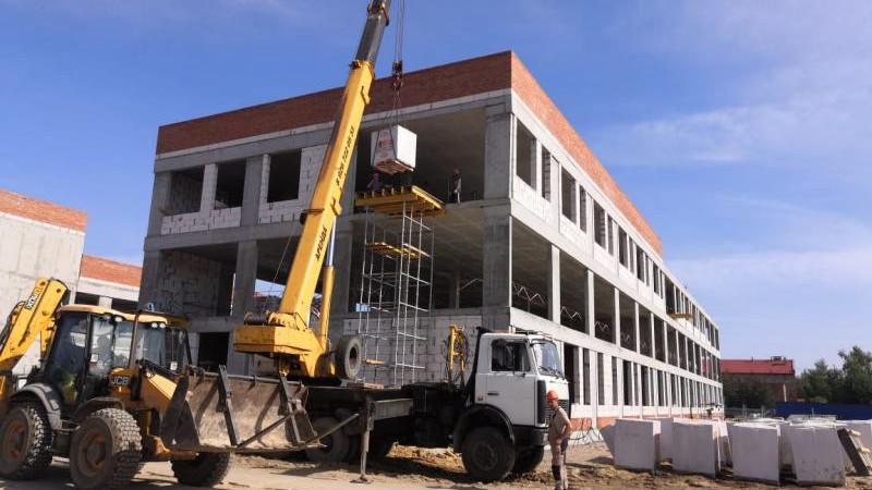 строительство школы в Луховицах
