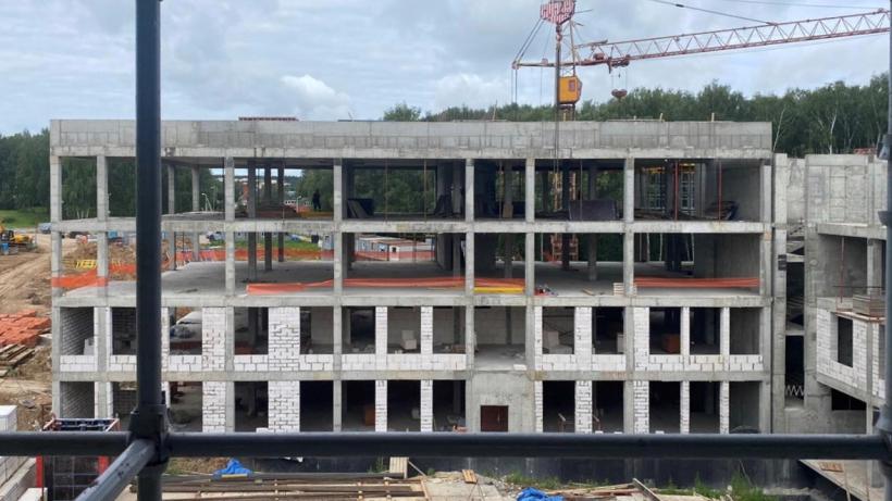 Строительство школы на 825 мест в Наро-Фоминске завершат до конца года