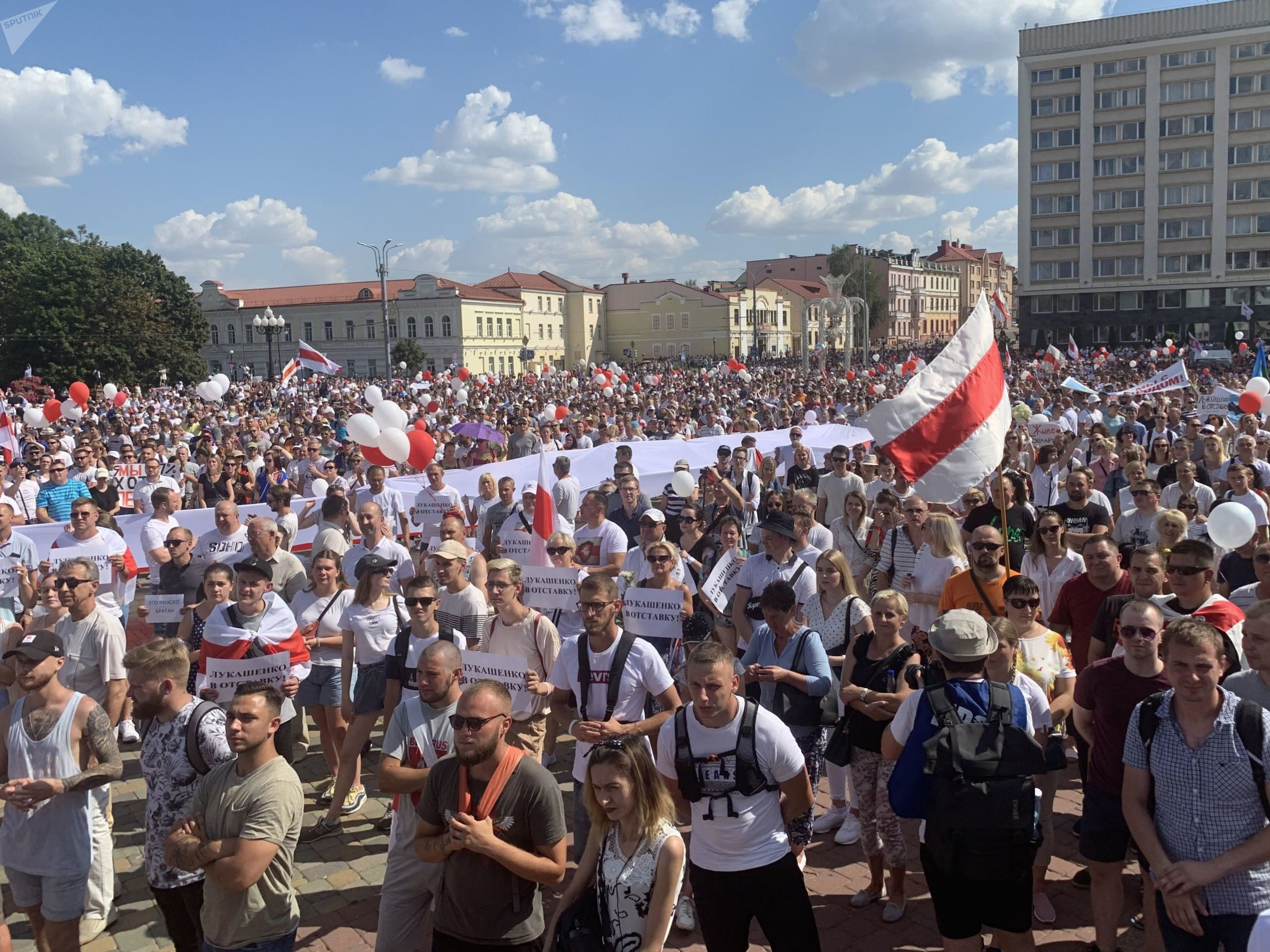 В Гродно власти выполнили требования протестующих