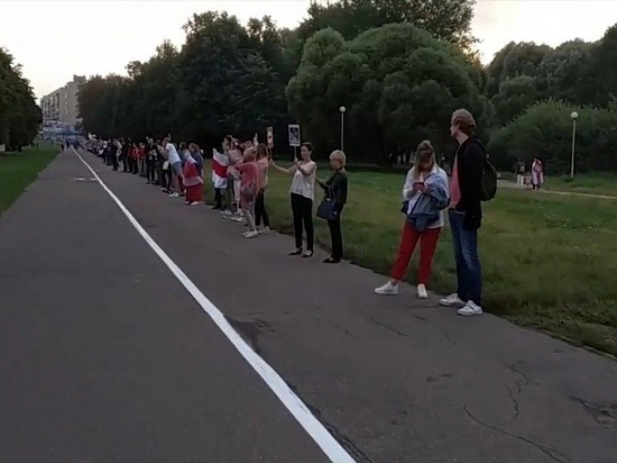 В Минске началась акция