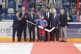В Туле состоялось открытие современного Ледового дворца