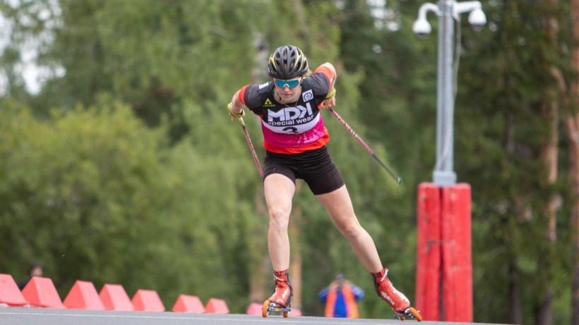 Виктория Лукашова из Подмосковья стала чемпионкой России по лыжероллерам