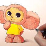 Виртуальный мастер-класс «День рождения Чебурашки»