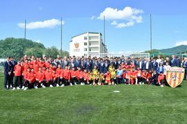 Во Владикавказе открыли Академию футбола «Алания»
