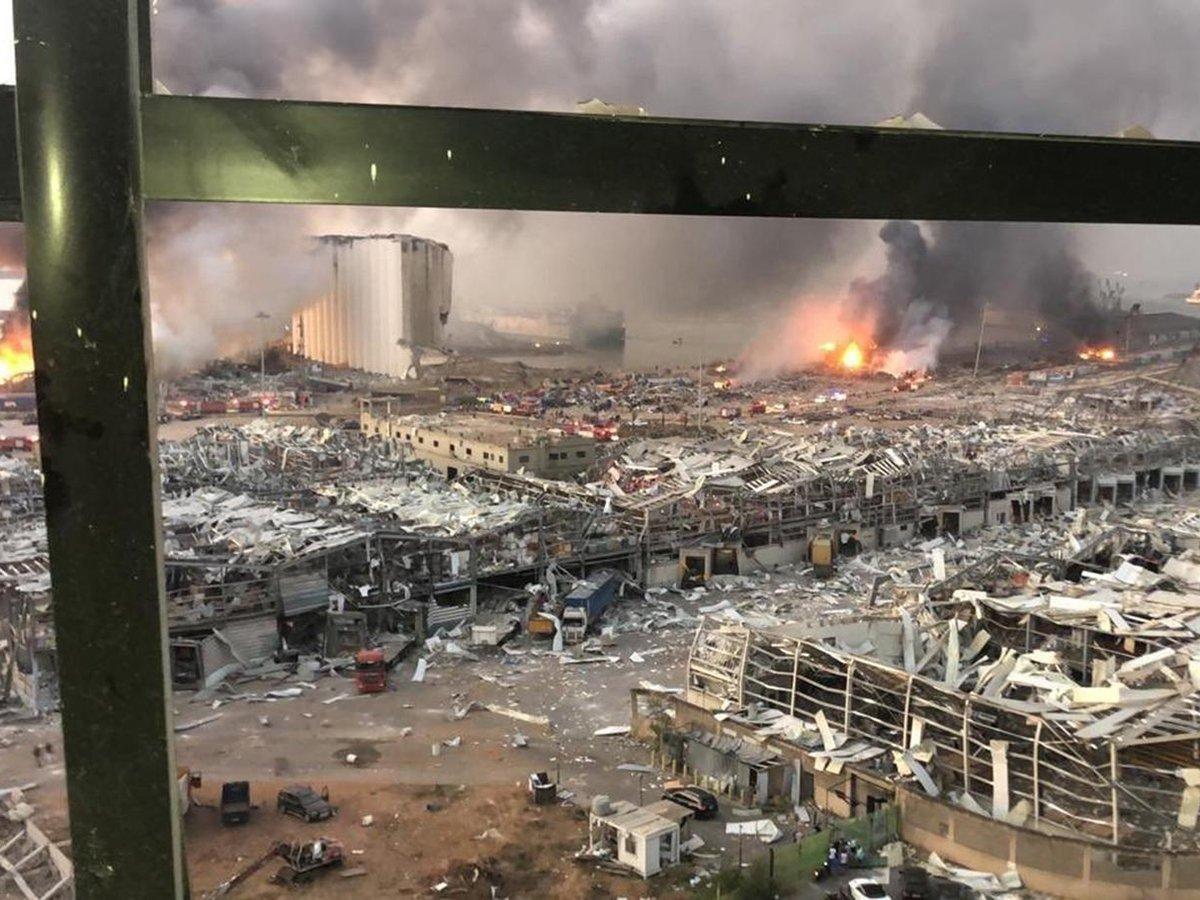 Вовзрыве вБейруте обнаружен русский след