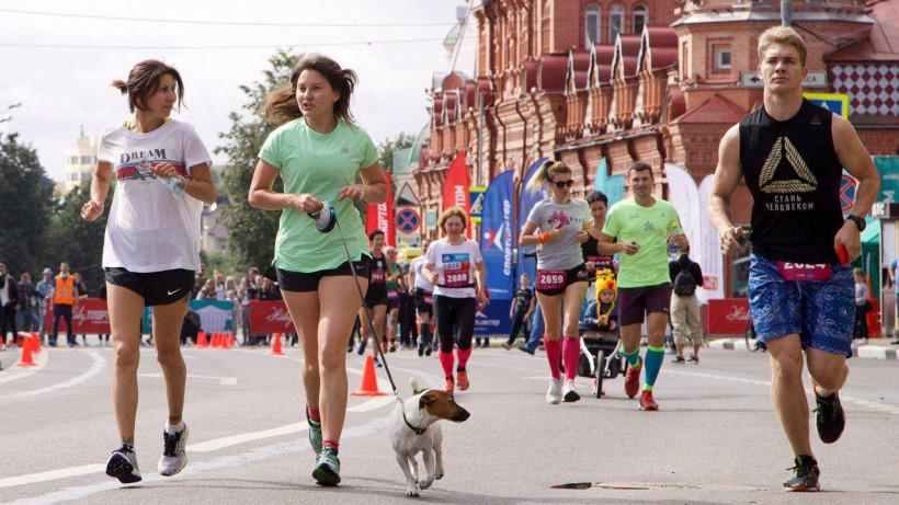 Второй забег серии «Живу спортом» прошел в Сергиевом Посаде