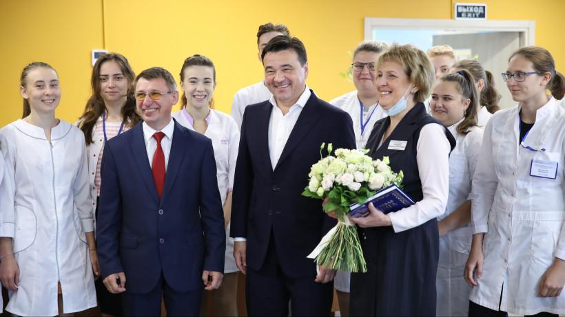 Андрей Воробьев посетил Егорьевск с рабочим визитом