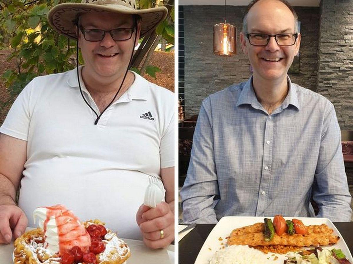 Мужчина похудел на 59 килограммов за 15 месяцев