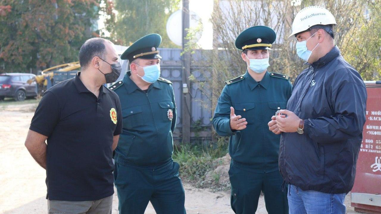 Артур Гарибян с рабочим визитом посетил Озеры