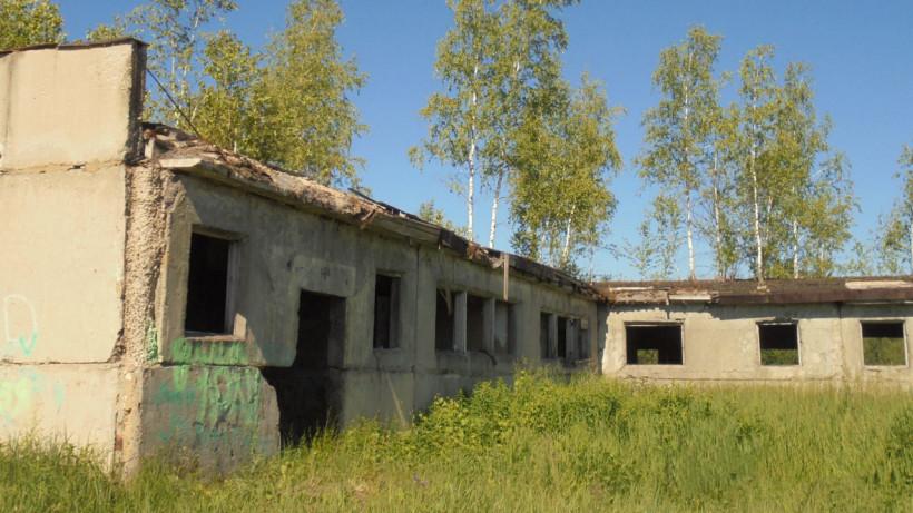 Аварийное здание фермы снесли в Егорьевске