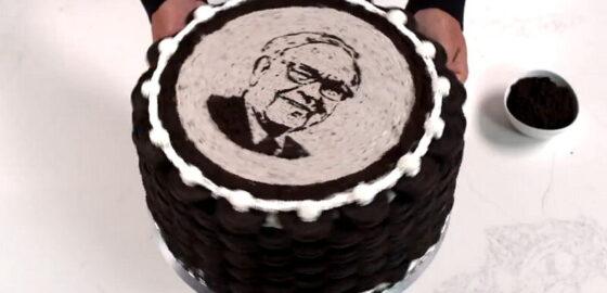 Шоколадный торт для Баффета