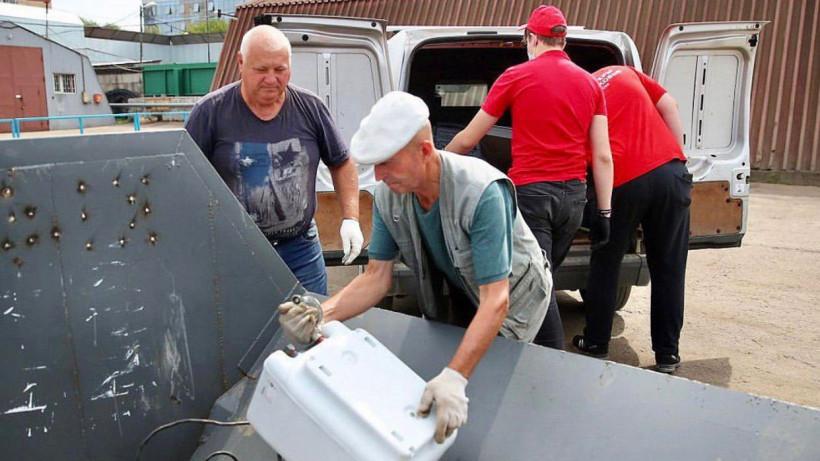 Более 3 тыс. жителей Подмосковья сдали свои крупногабаритные отходы на площадках «Мегабак»