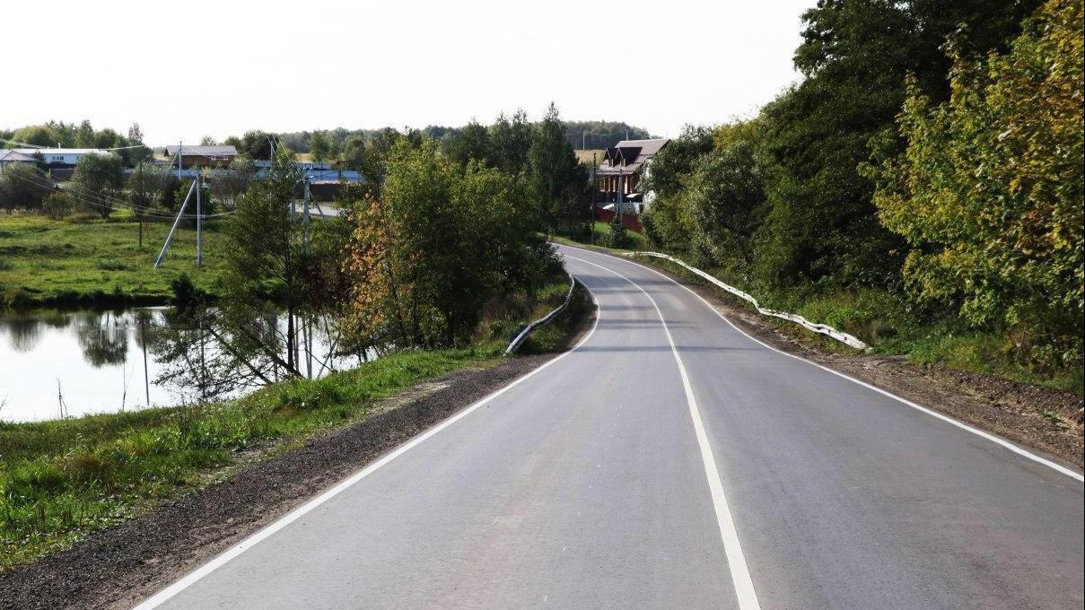 Более 50 км дорог отремонтировали в Коломенском округе