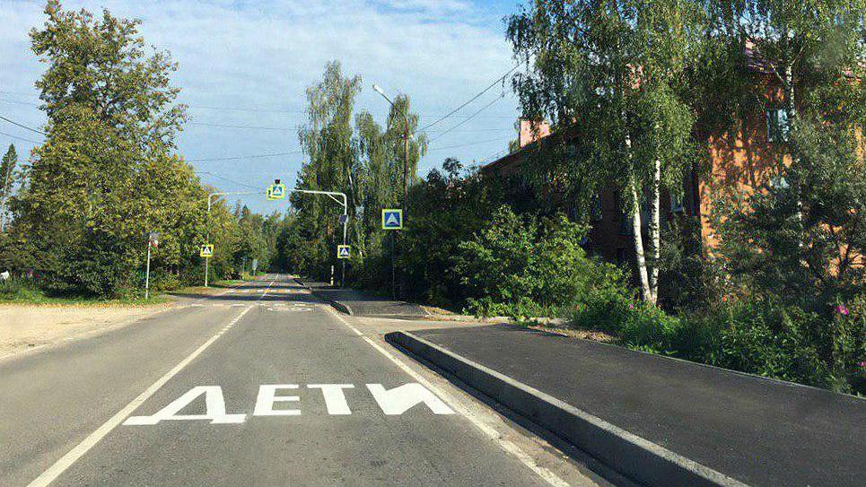 Новые тротуары появятся к 40 школам и детским садам Подмосковья к сентябрю