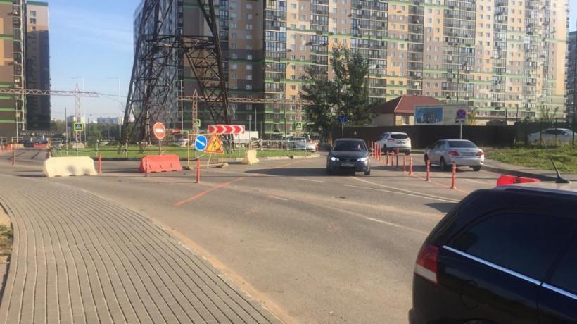 Движение переключили на Спасо-Тушинском бульваре в Путилкове