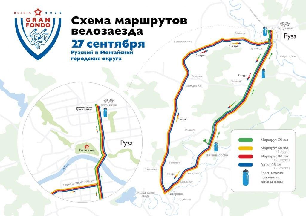 Движение транспорта ограничат в Рузском и Можайском округах на время проведения велозаездов