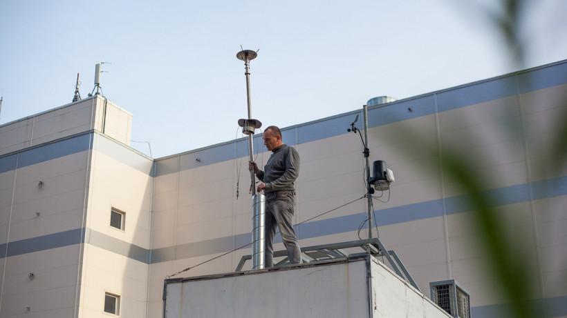 Станция экологического мониторинга воздуха в Реутове