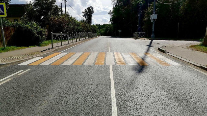 Еще восемь дорог отремонтировали в Московской области