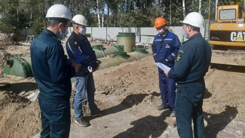 Главгосстройнадзор проверил ход строительства очистных сооружений в Орехово-Зуевском округе