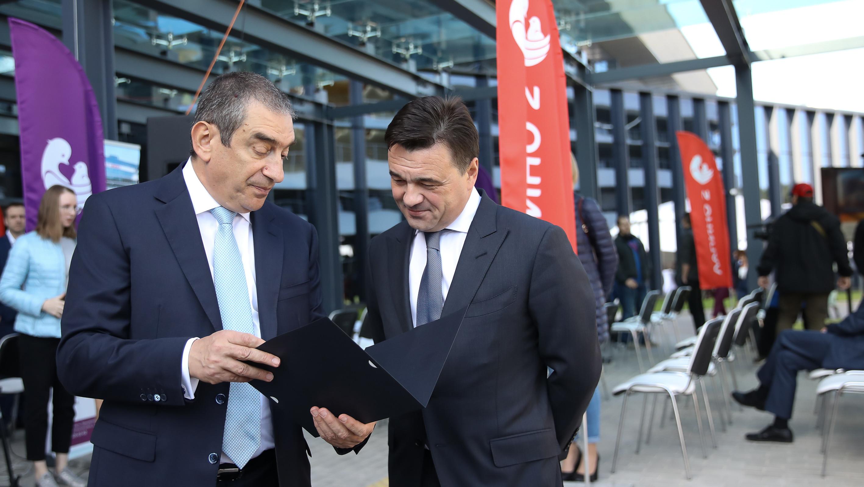 Губернатор на открытии нового хирургического корпуса «Лапино-2» в Одинцове