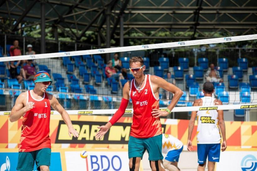 Илья Лешуков и Константин Семенов выиграли Кубок России по пляжному волейболу