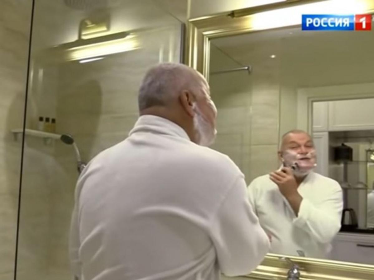 Киселев переночевал в номере Навального в Томске