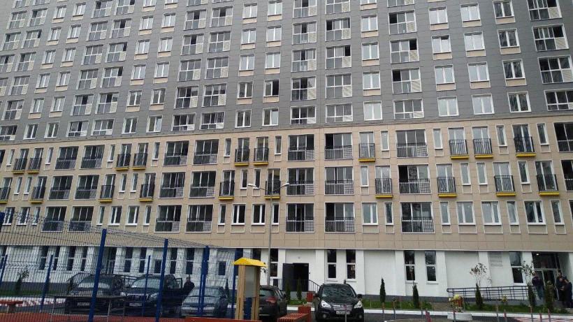 Многоэтажный жилой дом построили в Пушкине