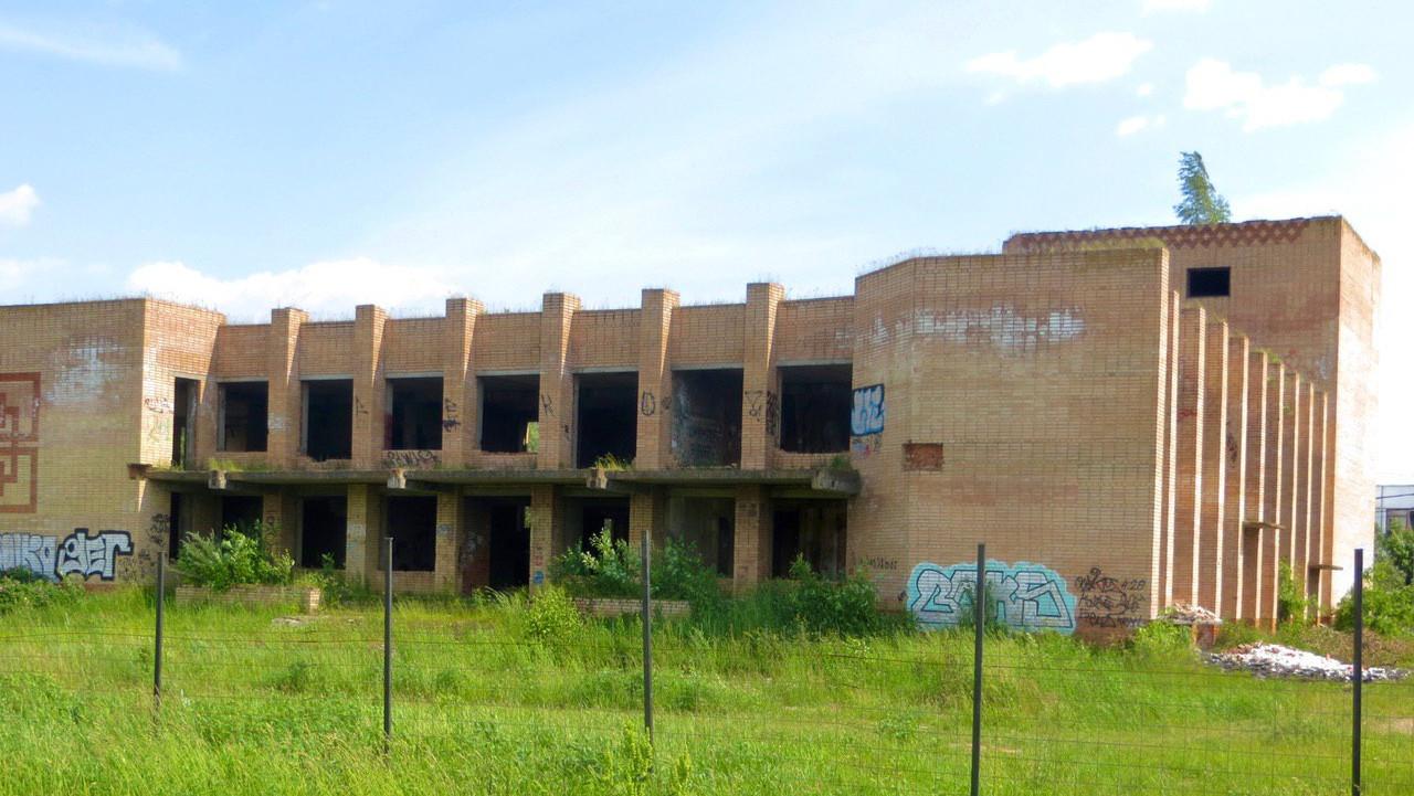 Недостроенное здание Дома культуры снесли в городском округе Воскресенск