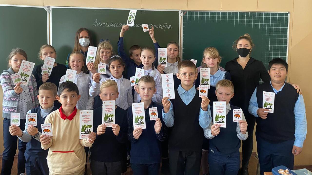 Новое школьное лесничество открылось в Сергиево-Посадском городском округе