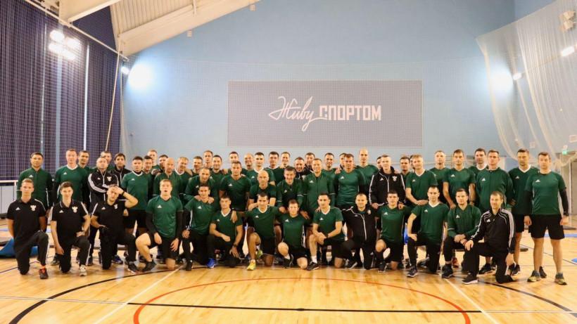 Сбор арбитров в Кратове