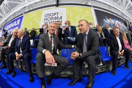 Олег Матыцин открыл первую в Адыгее ледовую арену, построенную в рамках федерального проекта «Спорт – норма жизни»