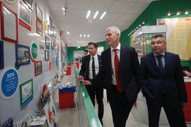 Олег Матыцин посетил Поволжскую государственную академию физической культуры, спорта и туризма