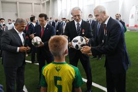 Олег Матыцин принял участие в открытии спортивных объектов в Казани