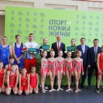 Олег Матыцин в Хабаровске дал старт проекту «Команда «Спорт – норма жизни»