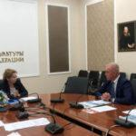 Ольга Ярилова и Сергей Морозов обсудили реализацию нацпроекта «Культура» в Ульяновской области