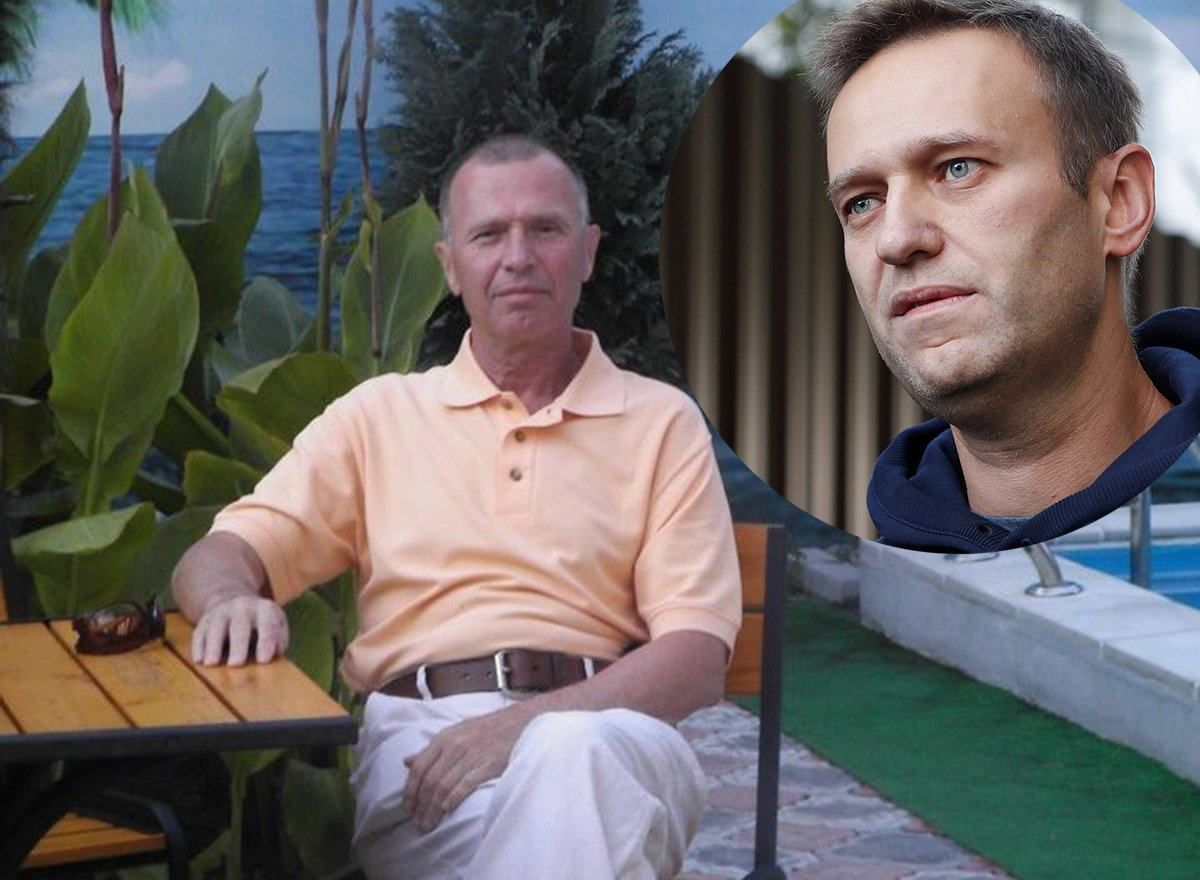 Создатель Новичка и Алексей Навальный