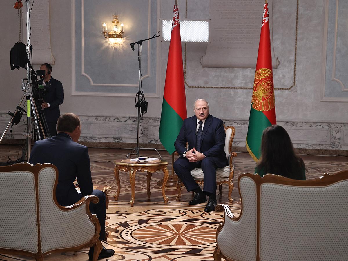 Интервью Лукашенко российским СМИ